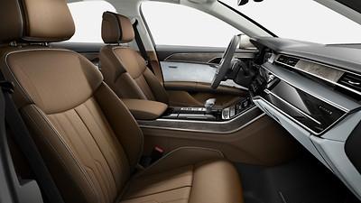 Lederausstattung (Paket 4) in Leder Valcona Audi exclusive