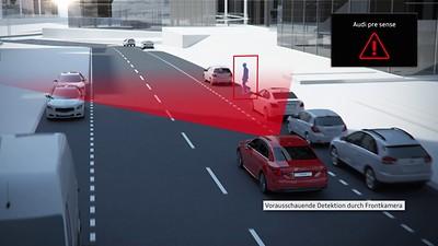 Audi Pre-sense Front
