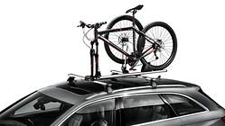 Fahrradgabelhalter, mit abschließbarer Schnellspannvorrichtung