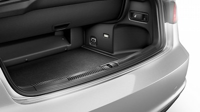 Luggage compartment floor mat
