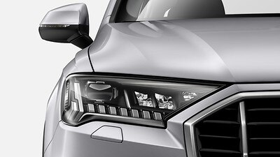 Audi Matrix LED headlights with LED rear lights and dynamic rear indicators