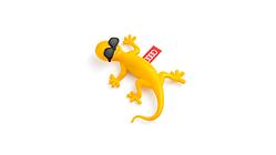 Duftgecko, gelb mit Sonnenbrille, fruchtig