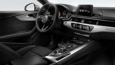 Interior elements in leatherette