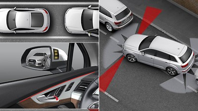 City assistance package with Park Assist package