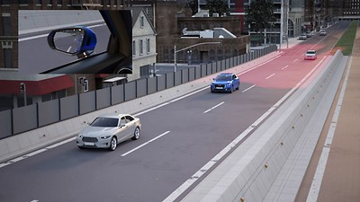 Audi Side Assist with Cross-traffic assist rear