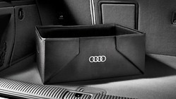 Luggage compartment box, foldable
