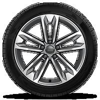 5V幅7.5J 18寸鑄鋁合金車輪,輪胎245/45 R18