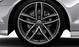 Audi Sport cast alum. alloy wheels, 5 twin-spoke des., matt titan. look, mach.-pol., 8.5Jx20, w. 255/35 R20 tyres