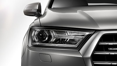 Xenon headlights with LED daytime running lights