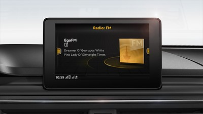 MMI® radio plus