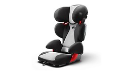 Audi child seat youngster plus, titanium grey/black or misano red/black