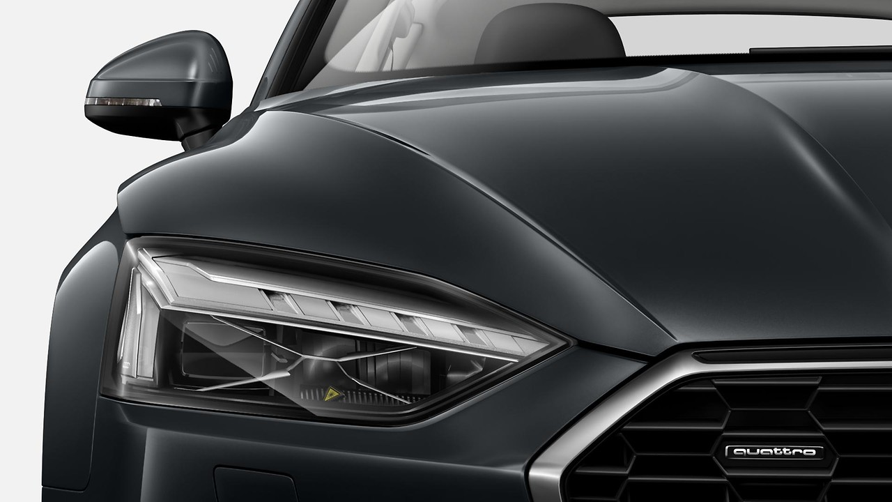 Matrix LED headlights with Audi laser light, dynamic light sequencing and dynamic indicator