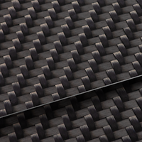 Carbon Twill structure inlays