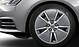 Cast aluminium alloy wheels, 5-arm aero design, contrast. grey, part. polished, 7.5J x 17, with 225/50 R17 tyres