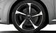 Легкосплавные диски Audi Sport, дизайн «5 спиц Blade», черные, с полированной обводкой, размер 9 J x 19