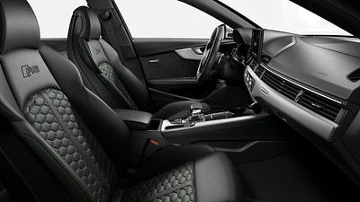 Styling package in Black-Sonoma Green, Audi exclusive