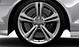 Cast aluminium alloy wheels, 8.5J x 20, 5 twin-spoke