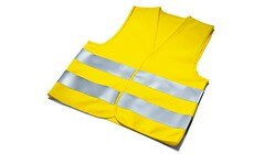 High-visibility vest, for children