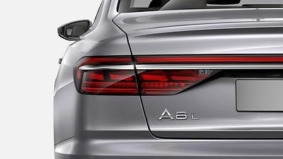 HD Matrix-LED-Scheinwerfer mit Audi Laserlicht und OLED-Heckleuchten