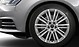 Audi Sport cast aluminium alloy wheels, 10-V-spoke design, mach.-pol., size x 19, with 245/35 R19 tyres
