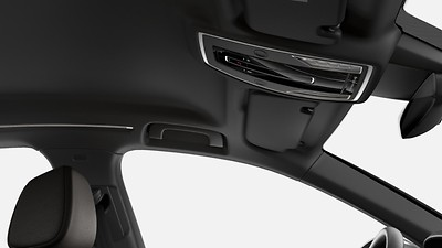 Headliner in Black fabric