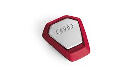 Duftspender Audi Singleframe, rot, mediterran