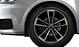 Cast aluminium alloy wheels, 5-arm cavo design, size 7.5J x 17, with 215/40 R17 tyres