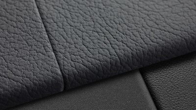 Leather seating surfaces