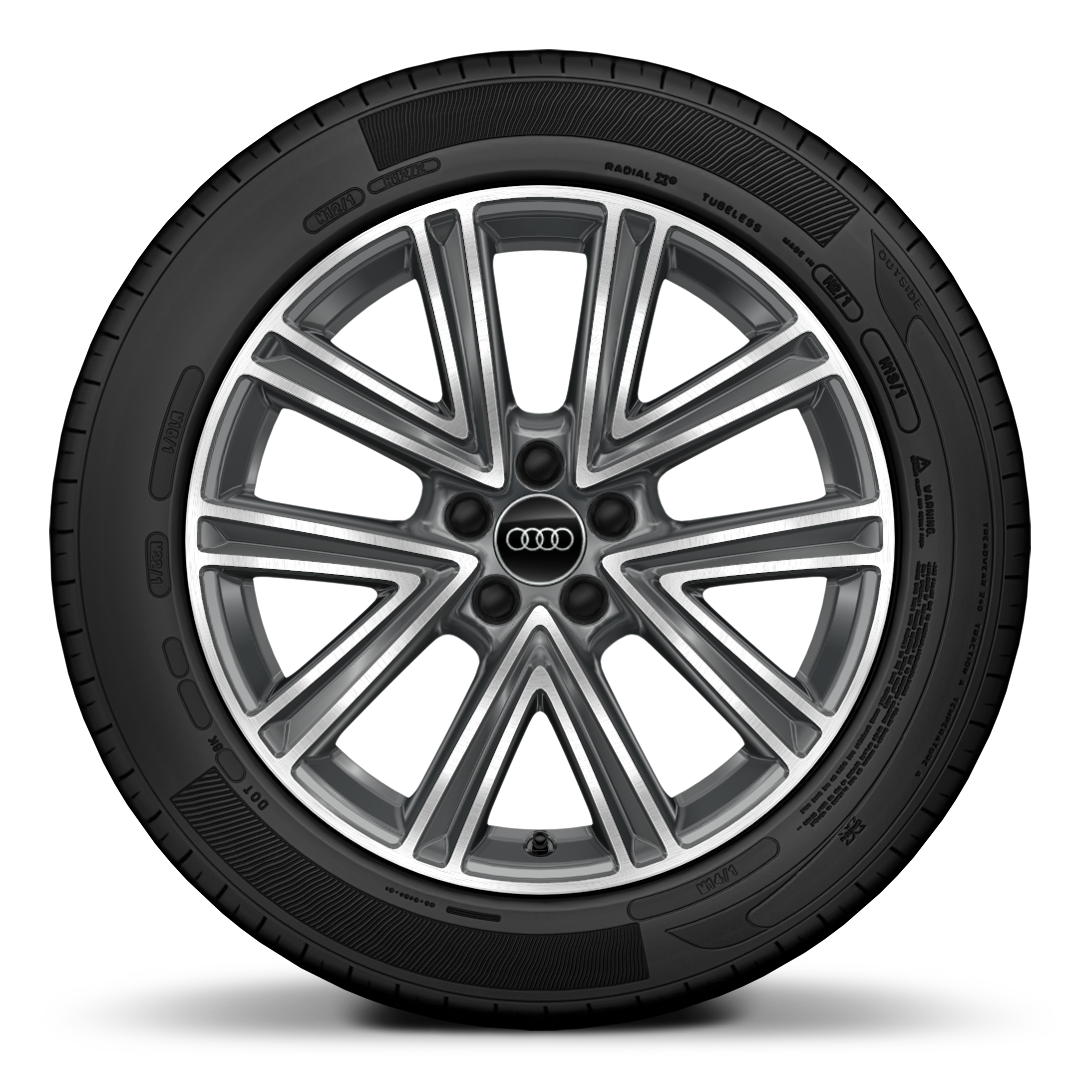 "17"" '5-spoke V' alloy wheels"
