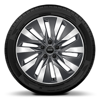 Alloy wheels, 10-arm Aero style, Graphite Gray, diamond-turned, 8.0J x 18, 225/55 R18 tires