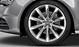 Cast aluminium alloy wheels, 10-spoke design, size 8.5J x 19, with 255/40 R tyres