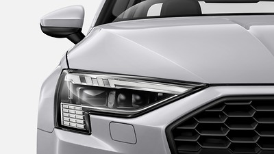 LED headlights with daytime running lights, and dynamic rear indicators