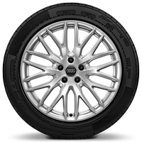 "19"" Audi Sport alloy wheels in 10-Y-spoke design with 235/40 tyres"