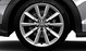 Cast aluminium alloy wheels, 10-spoke design, size 8.5 J x 19