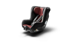 Audi child seat I-SIZE, misano red or titanium grey