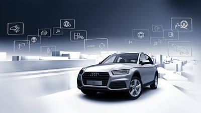 Audi connect Navigation & Infotainment mit integrierter SIM-Karte (3 Monate)