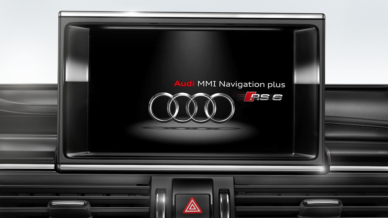 MMI® Navigation plus mit MMI touch