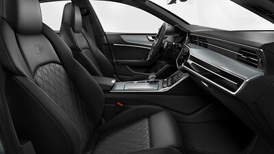 S' Super Sports front seats with driver side memory function