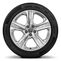 19 x 8.5J  5 arm aero design alloy wheels with 255/55 R19 tyres