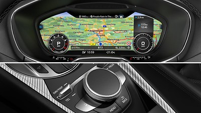 MMI®-navigation plus med MMI touch