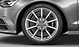 Audi Sport cast aluminium alloy wheels, 10-spoke design, size 8.5 J x 19 with 255/40 R 19 tyres