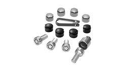 Anti-theft wheel bolts, M14 x 1,5 x 27