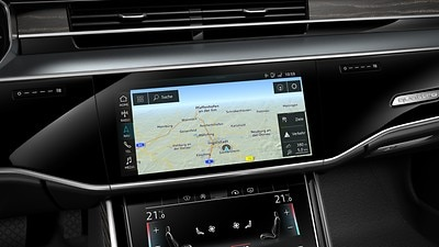 MMI navigation plus with MMI touch response