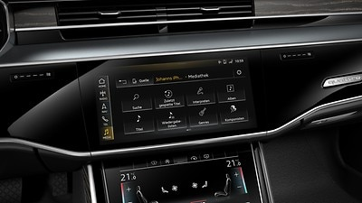Audi music interface