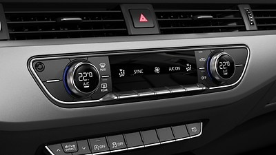 3-zone deluxe electronic climate control