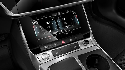 Deluxe 4-zone automatic climate control