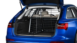 Partition grille for the luggage compartment, transverse