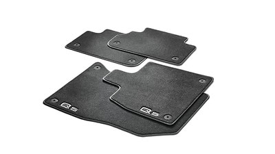Floor mats at front and rear