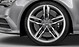 Cast aluminium alloy wheels, 5 parallel-spoke