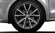 """17"""" alloy wheels in 5-spoke V design, contrasting grey, partly polished with 215/40 tyres"""
